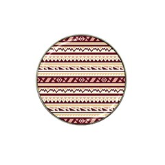 Pattern Tribal Triangle Hat Clip Ball Marker (10 Pack) by Alisyart