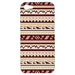 Pattern Tribal Triangle Apple Iphone 5 Hardshell Case by Alisyart