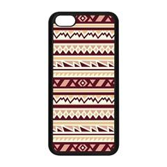 Pattern Tribal Triangle Apple Iphone 5c Seamless Case (black) by Alisyart