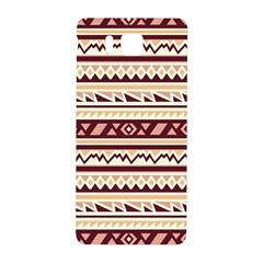 Pattern Tribal Triangle Samsung Galaxy Alpha Hardshell Back Case by Alisyart