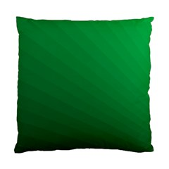 Green Beach Fractal Backdrop Background Standard Cushion Case (two Sides) by Simbadda