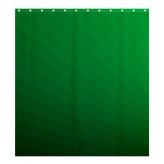 Green Beach Fractal Backdrop Background Shower Curtain 66  X 72  (large)  by Simbadda