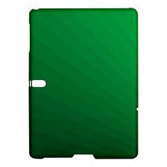 Green Beach Fractal Backdrop Background Samsung Galaxy Tab S (10 5 ) Hardshell Case  by Simbadda