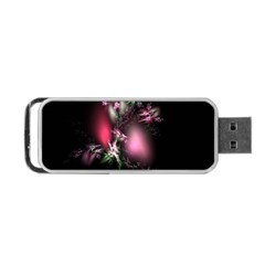 Colour Of Nature Fractal A Nice Fractal Coloured Garden Portable Usb Flash (two Sides) by Simbadda