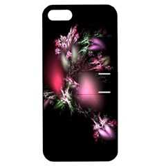 Colour Of Nature Fractal A Nice Fractal Coloured Garden Apple Iphone 5 Hardshell Case With Stand by Simbadda