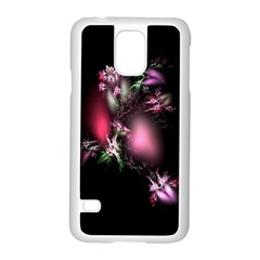 Colour Of Nature Fractal A Nice Fractal Coloured Garden Samsung Galaxy S5 Case (white) by Simbadda