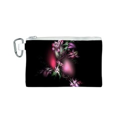 Colour Of Nature Fractal A Nice Fractal Coloured Garden Canvas Cosmetic Bag (s) by Simbadda