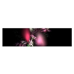 Colour Of Nature Fractal A Nice Fractal Coloured Garden Satin Scarf (oblong) by Simbadda