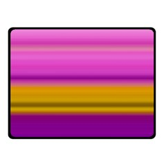 Stripes Colorful Background Colorful Pink Red Purple Green Yellow Striped Wallpaper Fleece Blanket (small) by Simbadda