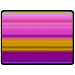 Stripes Colorful Background Colorful Pink Red Purple Green Yellow Striped Wallpaper Double Sided Fleece Blanket (large)  by Simbadda
