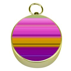Stripes Colorful Background Colorful Pink Red Purple Green Yellow Striped Wallpaper Gold Compasses by Simbadda