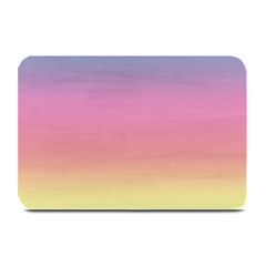 Watercolor Paper Rainbow Colors Plate Mats by Simbadda