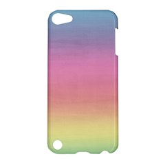 Watercolor Paper Rainbow Colors Apple Ipod Touch 5 Hardshell Case by Simbadda