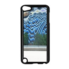 Mural Wall Located Street Georgia Usa Apple Ipod Touch 5 Case (black) by Simbadda