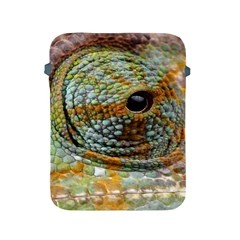 Macro Of The Eye Of A Chameleon Apple Ipad 2/3/4 Protective Soft Cases by Simbadda
