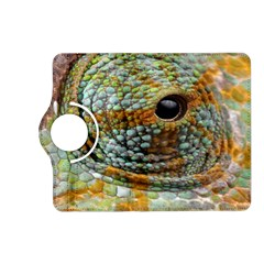 Macro Of The Eye Of A Chameleon Kindle Fire Hd (2013) Flip 360 Case by Simbadda