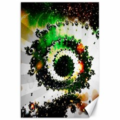 Fractal Universe Computer Graphic Canvas 20  X 30   by Simbadda