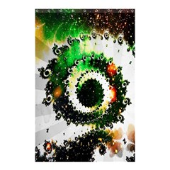 Fractal Universe Computer Graphic Shower Curtain 48  X 72  (small)  by Simbadda