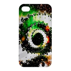 Fractal Universe Computer Graphic Apple Iphone 4/4s Premium Hardshell Case by Simbadda