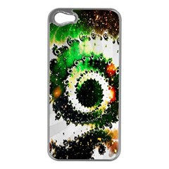 Fractal Universe Computer Graphic Apple Iphone 5 Case (silver)