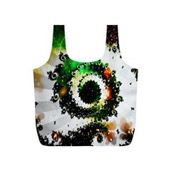 Fractal Universe Computer Graphic Full Print Recycle Bags (s)  by Simbadda