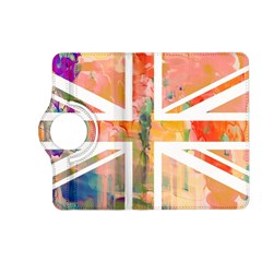 Union Jack Abstract Watercolour Painting Kindle Fire Hd (2013) Flip 360 Case by Simbadda