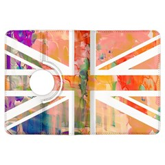 Union Jack Abstract Watercolour Painting Kindle Fire Hdx Flip 360 Case by Simbadda