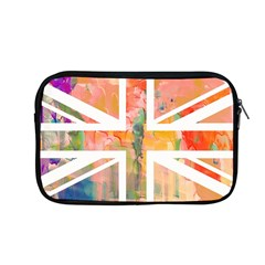Union Jack Abstract Watercolour Painting Apple Macbook Pro 13  Zipper Case by Simbadda