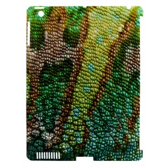 Colorful Chameleon Skin Texture Apple Ipad 3/4 Hardshell Case (compatible With Smart Cover) by Simbadda