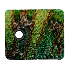 Colorful Chameleon Skin Texture Galaxy S3 (flip/folio) by Simbadda
