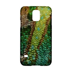 Colorful Chameleon Skin Texture Samsung Galaxy S5 Hardshell Case  by Simbadda