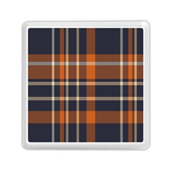 Tartan Background Fabric Design Pattern Memory Card Reader (square)