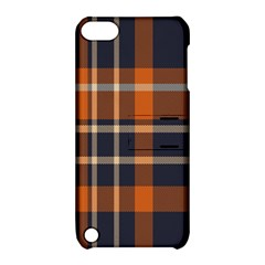 Tartan Background Fabric Design Pattern Apple iPod Touch 5 Hardshell Case with Stand