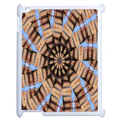Manipulated Reality Of A Building Picture Apple Ipad 2 Case (white) by Simbadda