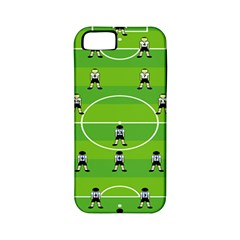 Soccer Field Football Sport Apple Iphone 5 Classic Hardshell Case (pc+silicone) by Alisyart