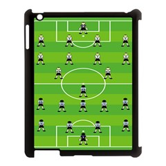 Soccer Field Football Sport Apple Ipad 3/4 Case (black) by Alisyart