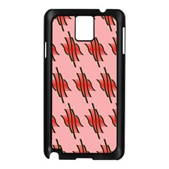 Variant Red Line Samsung Galaxy Note 3 N9005 Case (black) by Alisyart