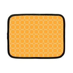 Yellow Circles Netbook Case (small)  by Alisyart