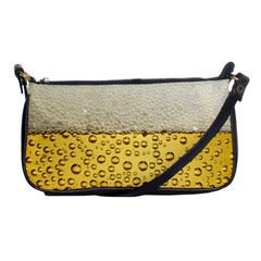 Water Bubbel Foam Yellow White Drink Shoulder Clutch Bags by Alisyart