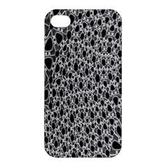 X Ray Rendering Hinges Structure Kinematics Circle Star Black Grey Apple Iphone 4/4s Premium Hardshell Case by Alisyart