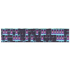 Techno Fractal Wallpaper Flano Scarf (small) by Simbadda
