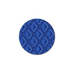 Blue Fractal Background Golf Ball Marker (10 Pack) by Simbadda