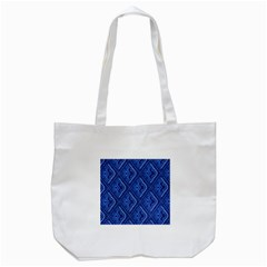 Blue Fractal Background Tote Bag (white) by Simbadda
