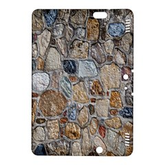 Multi Color Stones Wall Texture Kindle Fire Hdx 8 9  Hardshell Case by Simbadda