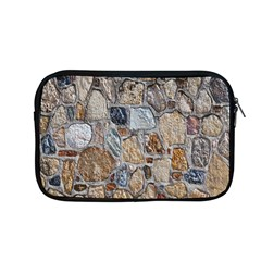 Multi Color Stones Wall Texture Apple Macbook Pro 13  Zipper Case by Simbadda
