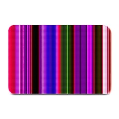 Fun Striped Background Design Pattern Plate Mats by Simbadda