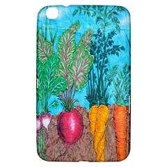 Mural Displaying Array Of Garden Vegetables Samsung Galaxy Tab 3 (8 ) T3100 Hardshell Case  by Simbadda