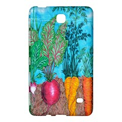 Mural Displaying Array Of Garden Vegetables Samsung Galaxy Tab 4 (8 ) Hardshell Case  by Simbadda
