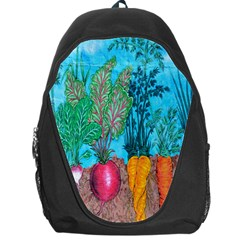 Mural Displaying Array Of Garden Vegetables Backpack Bag by Simbadda