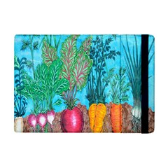Mural Displaying Array Of Garden Vegetables Ipad Mini 2 Flip Cases by Simbadda